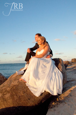 Lucinda & Dale's Beach Dream
