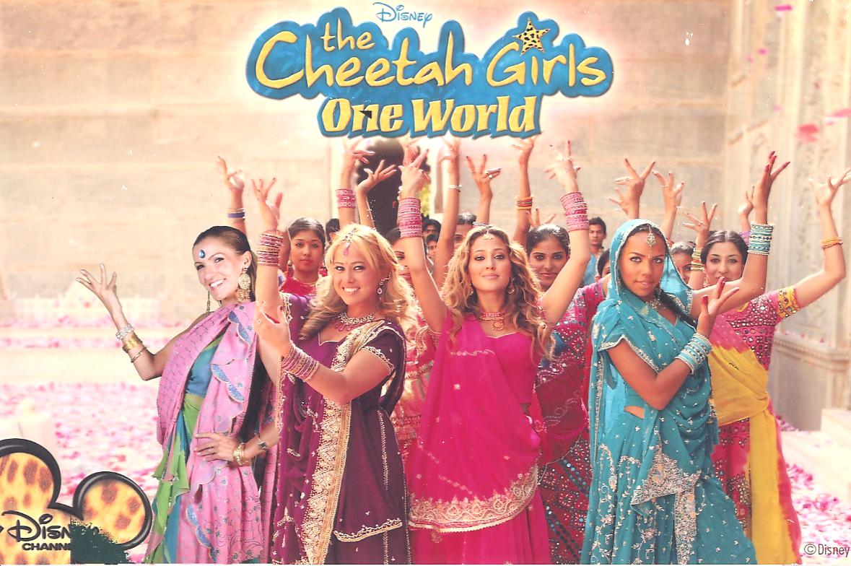 menina & cheetah girls