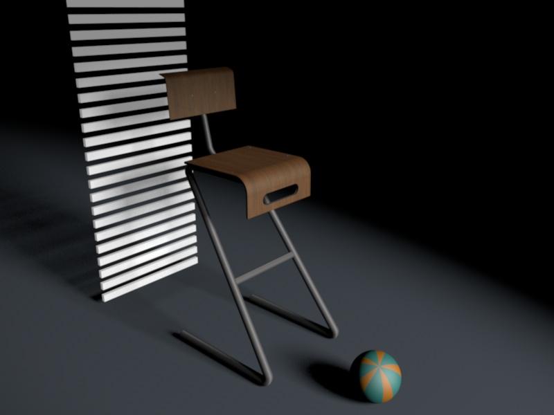 chaise+ ball