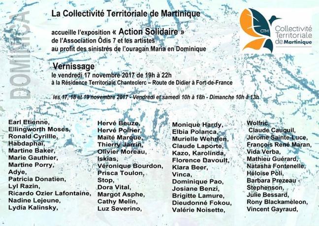 Action solidaire pour la Dominique, notre contribution.