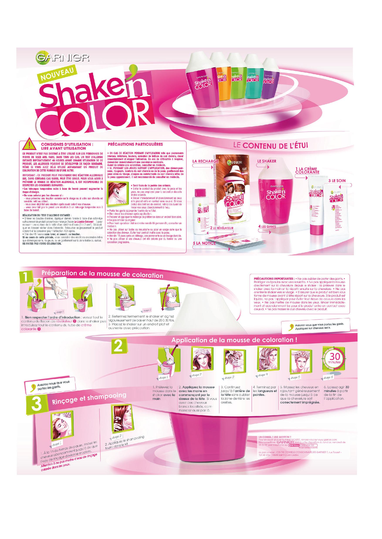 Notice Shake'n color