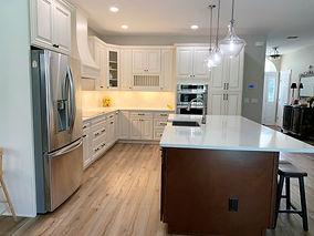 Open concept farm kitchen remodel in Clermont FL