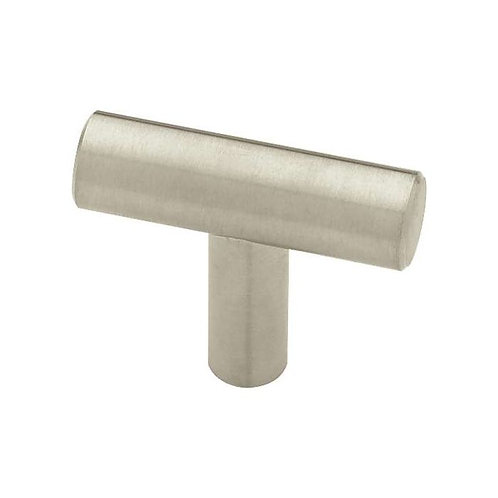 Stainless steel knob matching bar pull