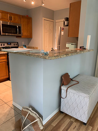 Before photo of a kitchen remodel in Altamonte Springs