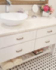 Bathroom custom vanity