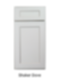 Grey shaker cabinet orlando