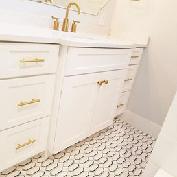 Another gorgeous bathroom in the books!