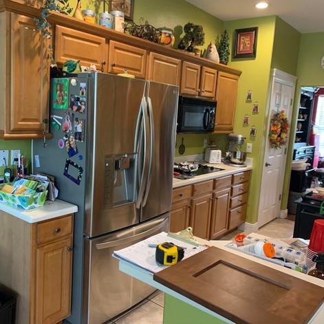 Befire Clermont kitchen