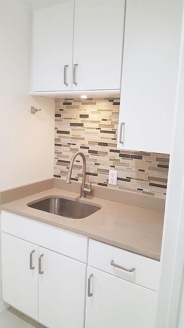 Kitchen remodel laundry sink