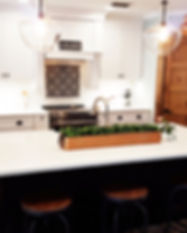 Kitchen after picture, farmhouse