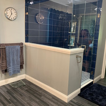 After picture shower remodel