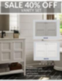 White bathroom vanity sale letter size.j