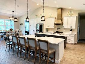 Double island custom home kitchen remodel in Apopka FL