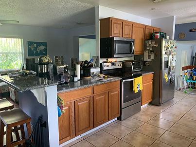 Before kitchen remodel orlando