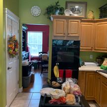 Before Clermont kitchen