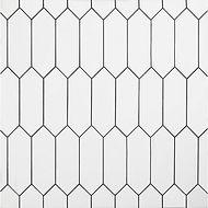 Ceramic tile shower or backslash