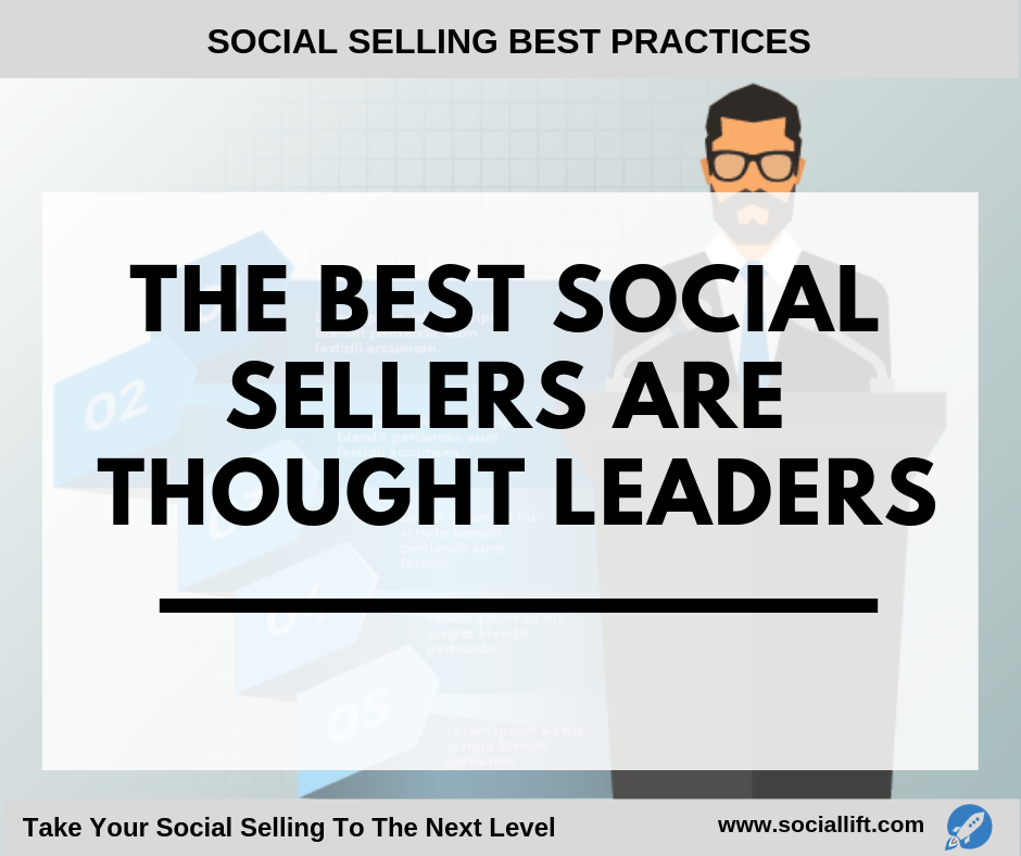 The Best Social Sellers are Thought Leaders (1)