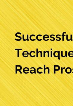 Successful Calling Techniques To Reach P
