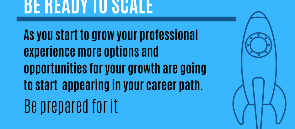 Be Ready to Scale