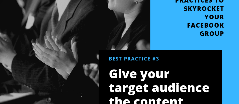 Give Your Target Audience The Content They Want And Need