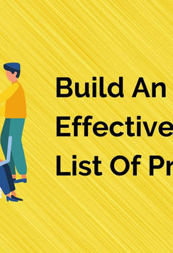 Build An Effective Target List Of Prospe