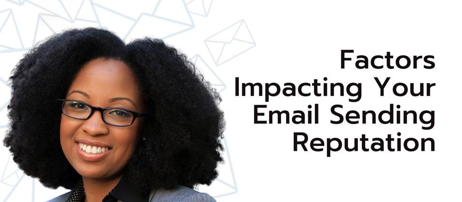 Factors Impacting Your Email Sending Reputation
