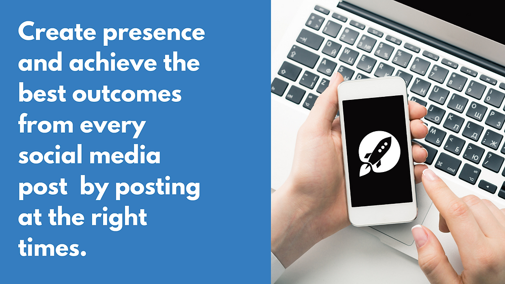 Create presence and achieve the best outcomes from every social media post.