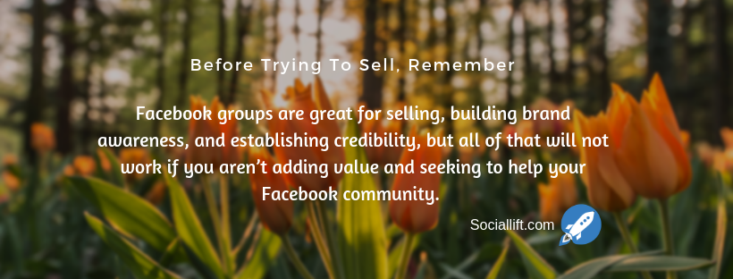 How to create a facebook group with thousands of members