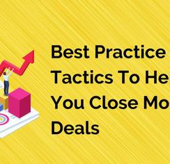 Best Practice Sales Tactics To Help You