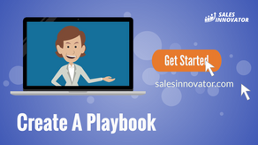 Create A Playbook For Sales Innovator