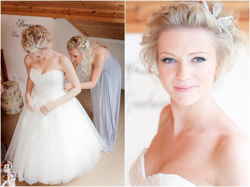 Bella wedding day Makeup Be Maria G