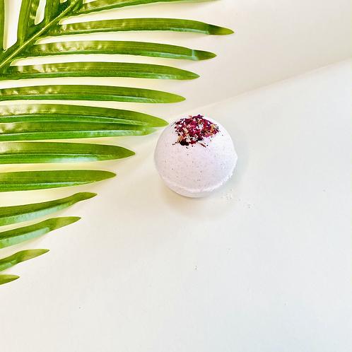 White Rose Bath Ball