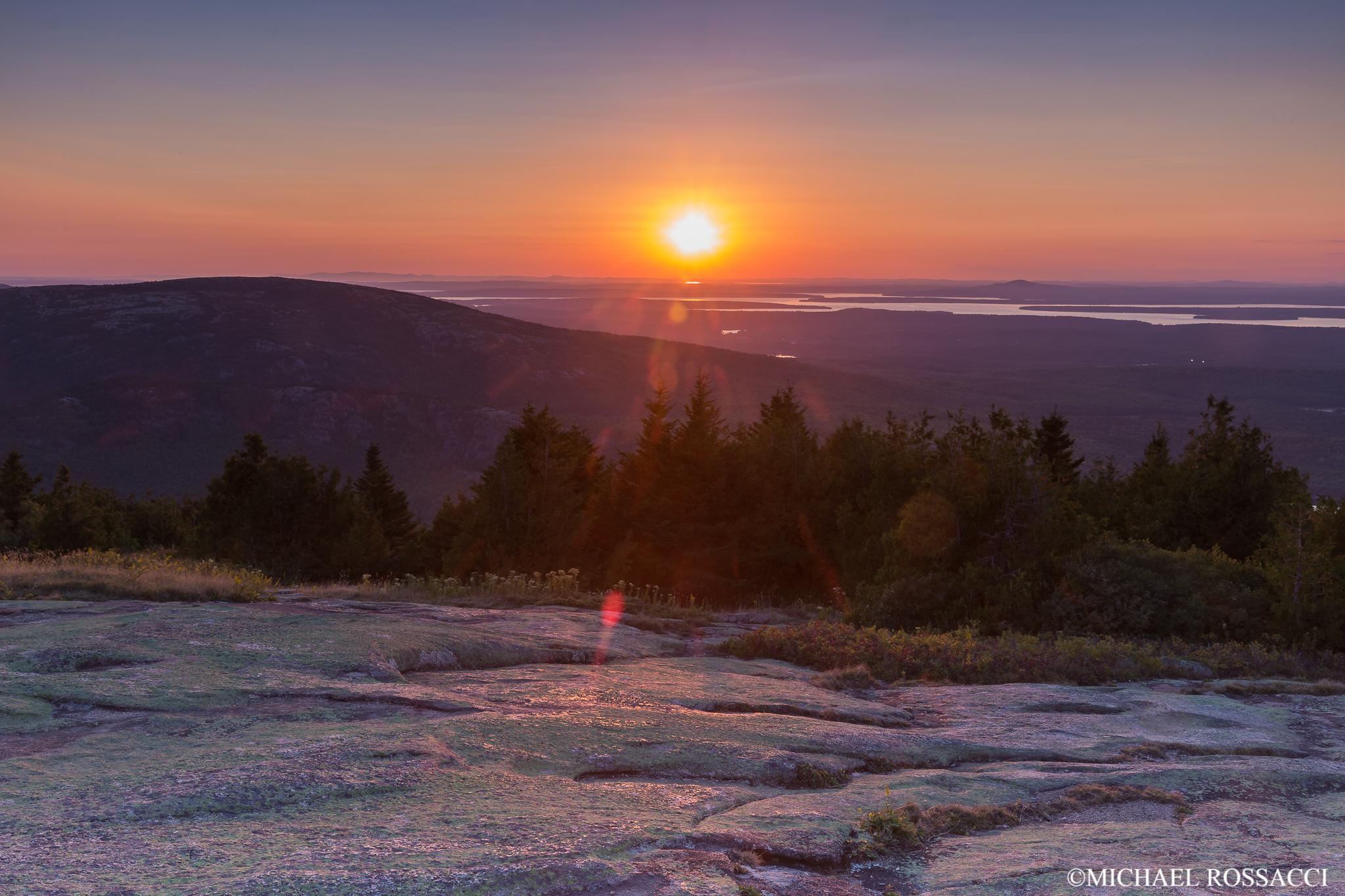 cardillac sunset