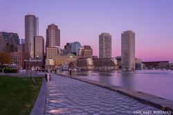 harbor walk pre-dawn