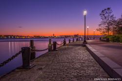 harbor walk sunrise
