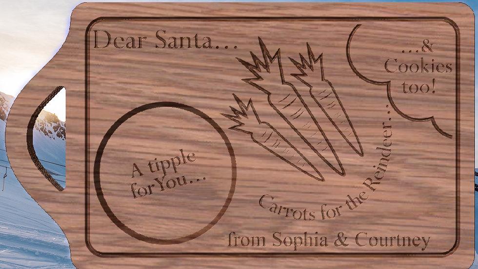 Santas Xmas Eve Board