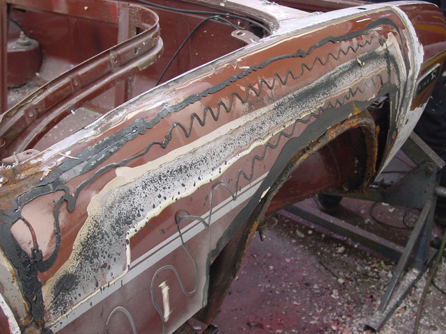 Rear Wing Corrosion