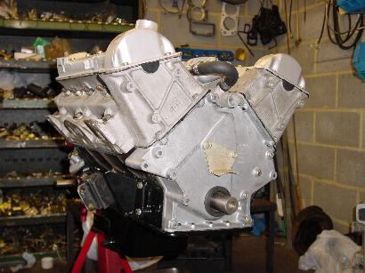 Stag V8 Engine
