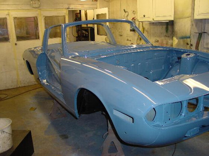 Triumph Stag Restoration
