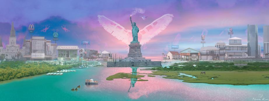 America by Noma Kim