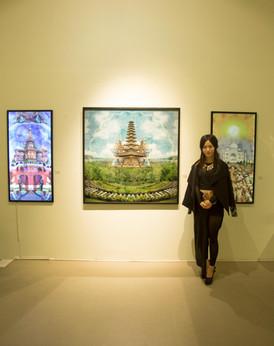 Exhibition at Ara art center