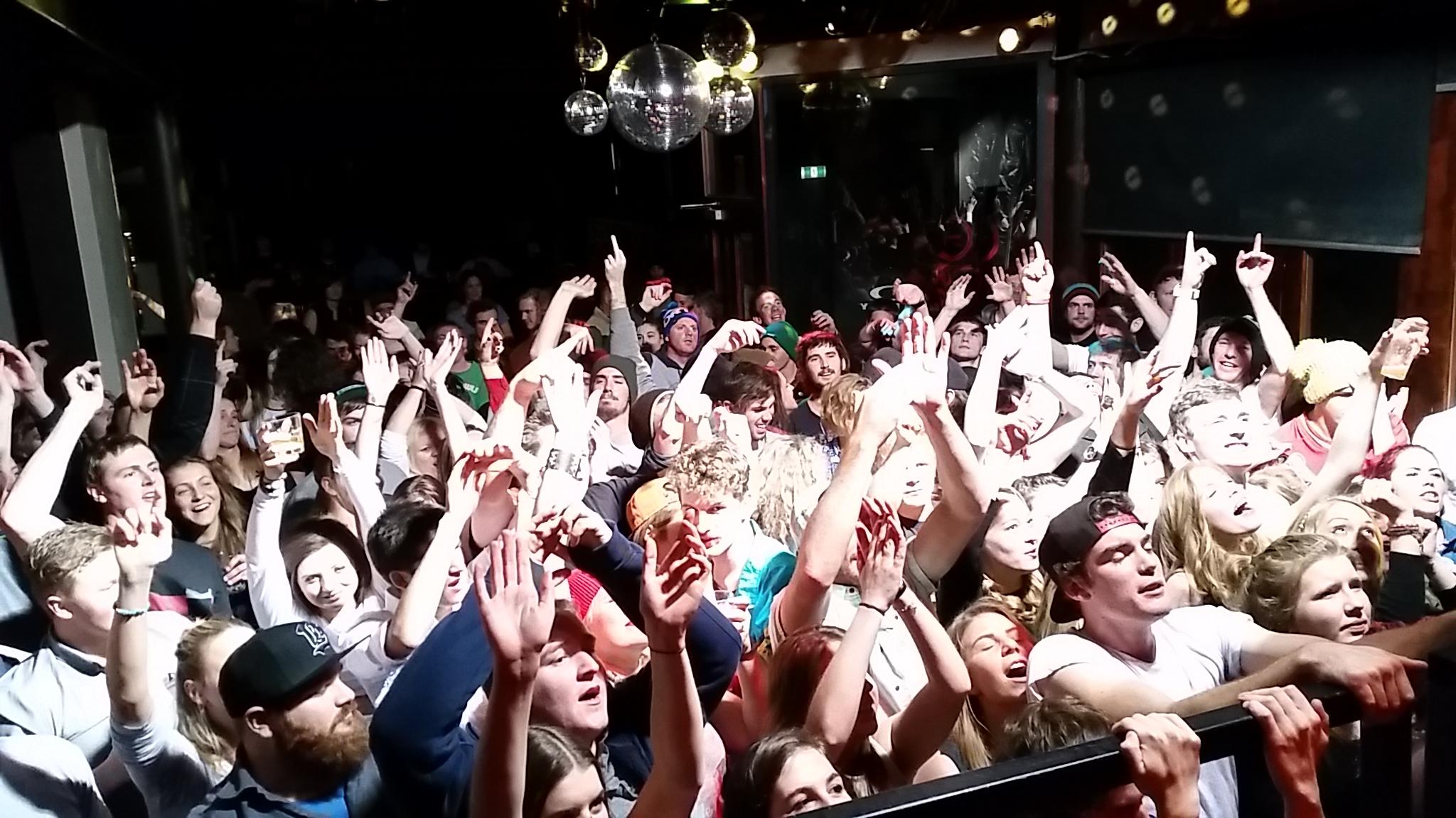big crowd