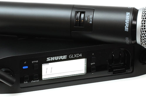 SHURE GLX-D BETA58 HANDHELD WIRELESS MICROPHONE