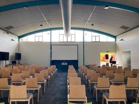 """180"""" Foldout screen & Projector packages available."""