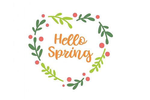 Hello Spring 11.25 x16