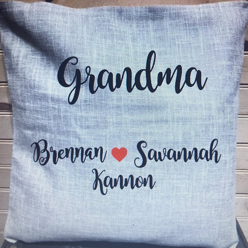 Grandparent Pillow Case
