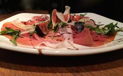 Parma ham, figs & rocket