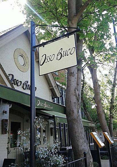 Elena and Ali Vahedi, owners of |Osso Buco Italian restaurant Weybridge Surrey