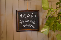 Special Wine Selection