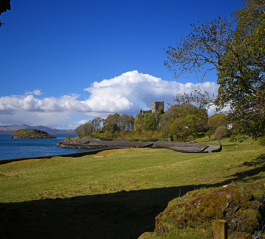 Dunollie Castle from the Dog Stone
